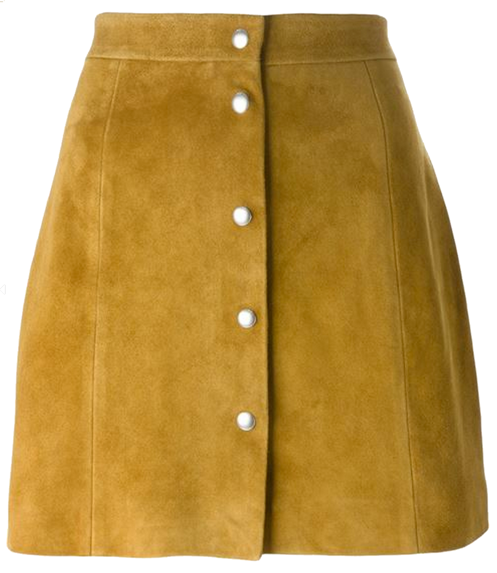 OE_IRO_Suede_Skirt_Tan_Buttons