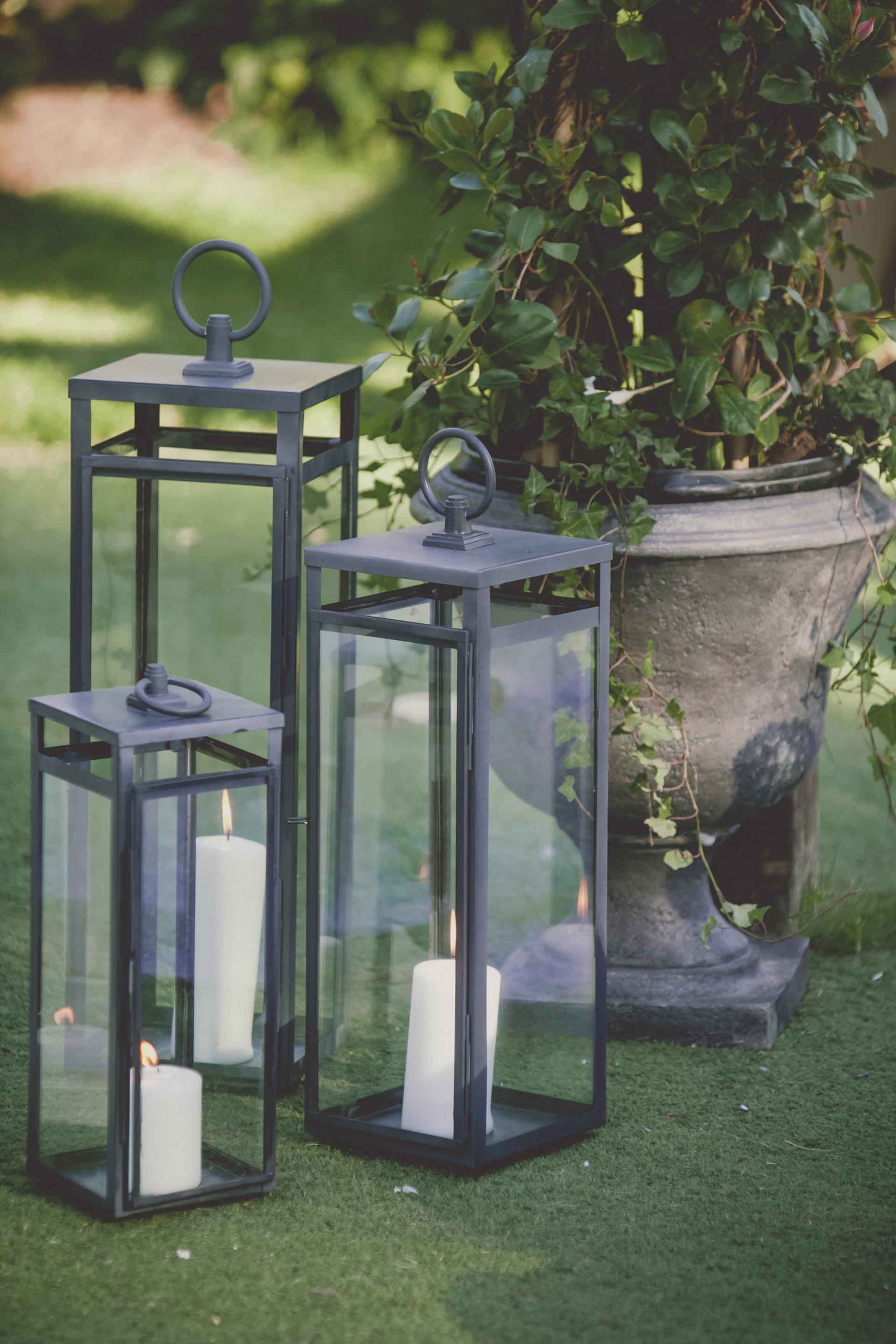 Farm Barn Wedding Lanterns Isle Decor