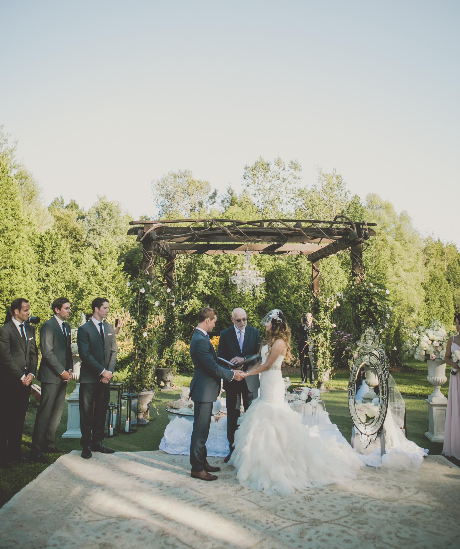 Farm Barn Wedding Arbour