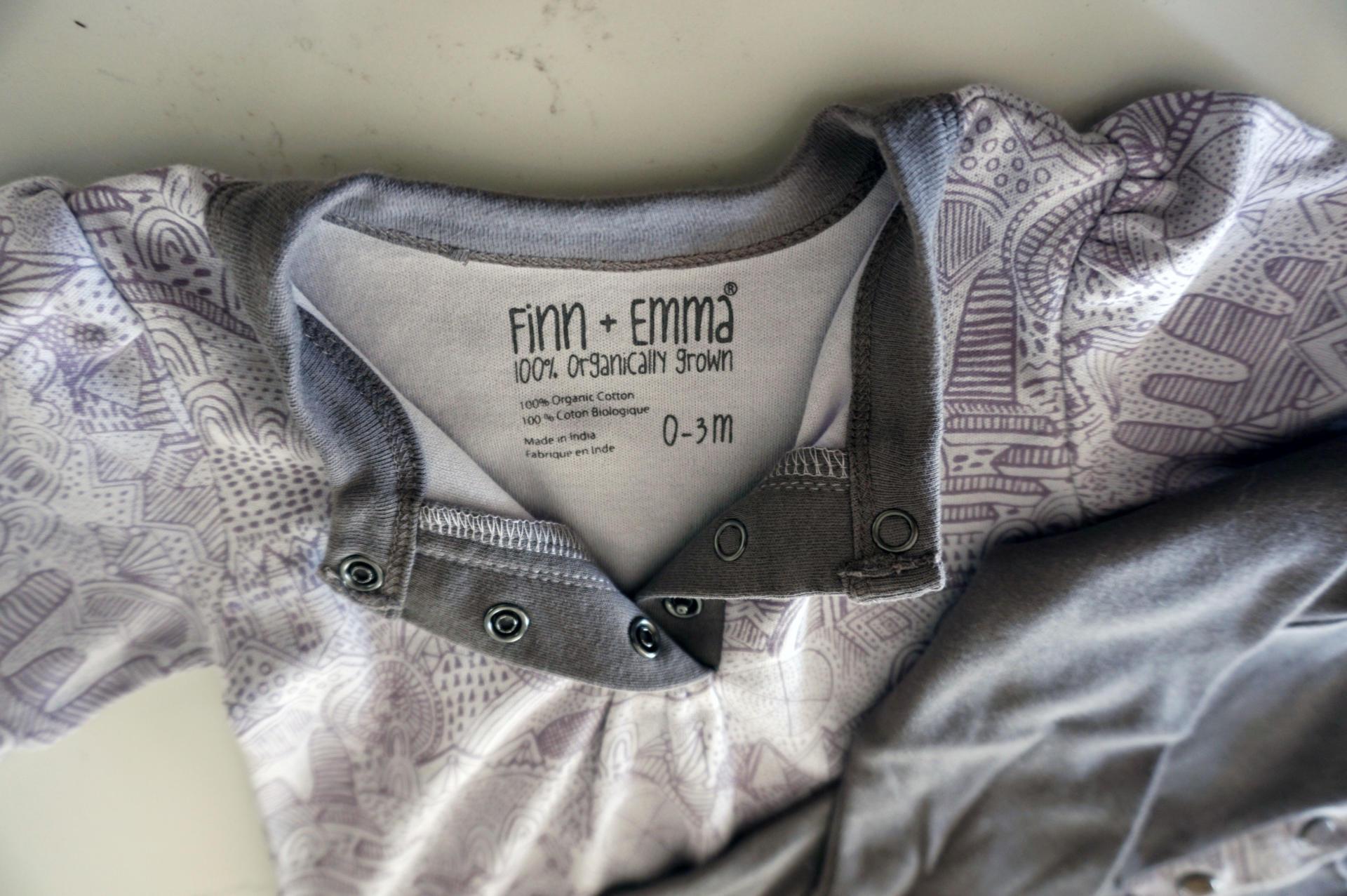 Finn + Emma Organic Onsie